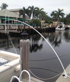16' Standard Mooring Whip by Dolphin Mooring Whips S-1600D - Marine Fiberglass Direct