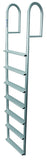 JIF Marine - 7 Wide Step Stationary Dock Ladder - DJV7-W - Marine Fiberglass Direct