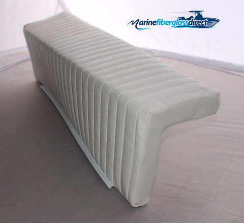 "Universal Cushion for Leaning Post - 37.5"" x 10.5"" x 9"" - Square - Marine Fiberglass Direct"