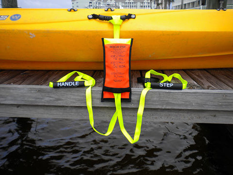 Rescue Steps for Kayaks - Permanent or Emergency ladder - Marine Fiberglass Direct