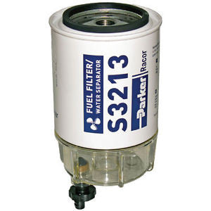 Parker Racor OEM Spin-On Gasoline Filter/Water Separator - B32013 - Marine Fiberglass Direct
