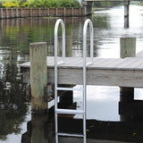 C&M Marine - 5 Step Standard Fixed Dock Ladder - Marine Fiberglass Direct