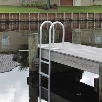 C Amp M Marine 7 Step Standard Fixed Dock Ladder Marine