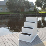 Fiberglass 4 (Four) Step Stairs - Marine Fiberglass Direct