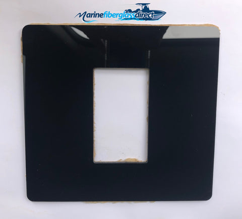 HDPE Marine Plastic Suzuki Key Ignition Keel Switch Panel Mounting Plate - Marine Fiberglass Direct