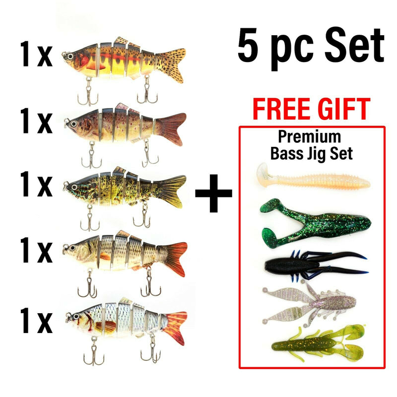 UFISH - Best Bass Crankbaits, Lifelike fishing lures, Fishing lure lot
