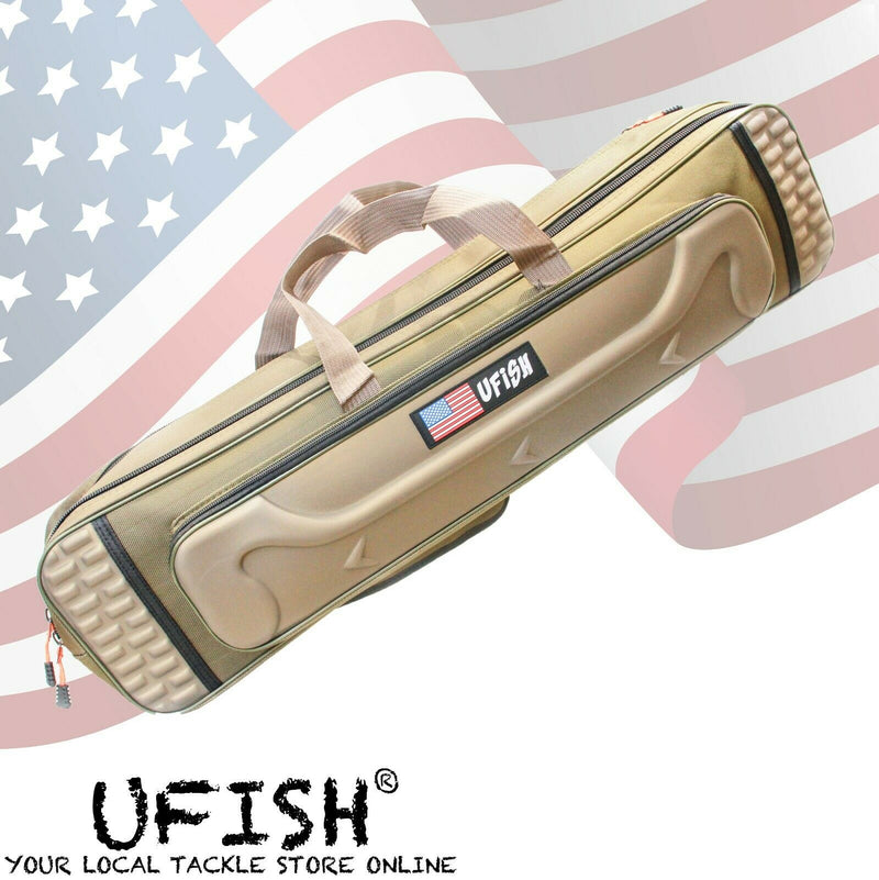 UFISH - Fishing Rod Bag & Tackle Storage, Rod Travel Bag, Fishing Rod Bag Case.