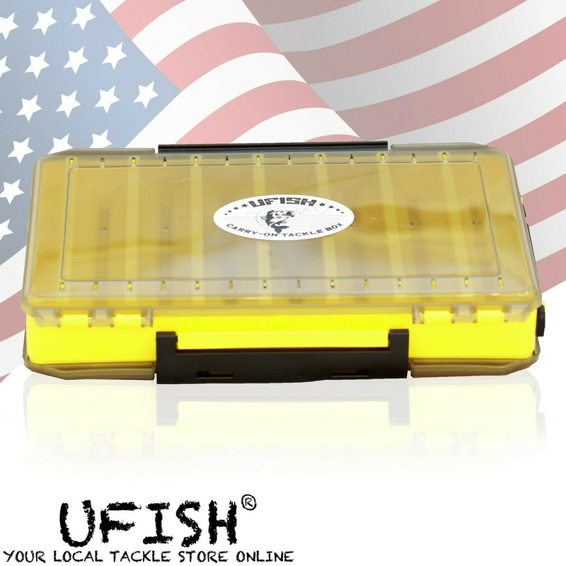 UFISH Bait Storage Organizer Full With Fishing Lures