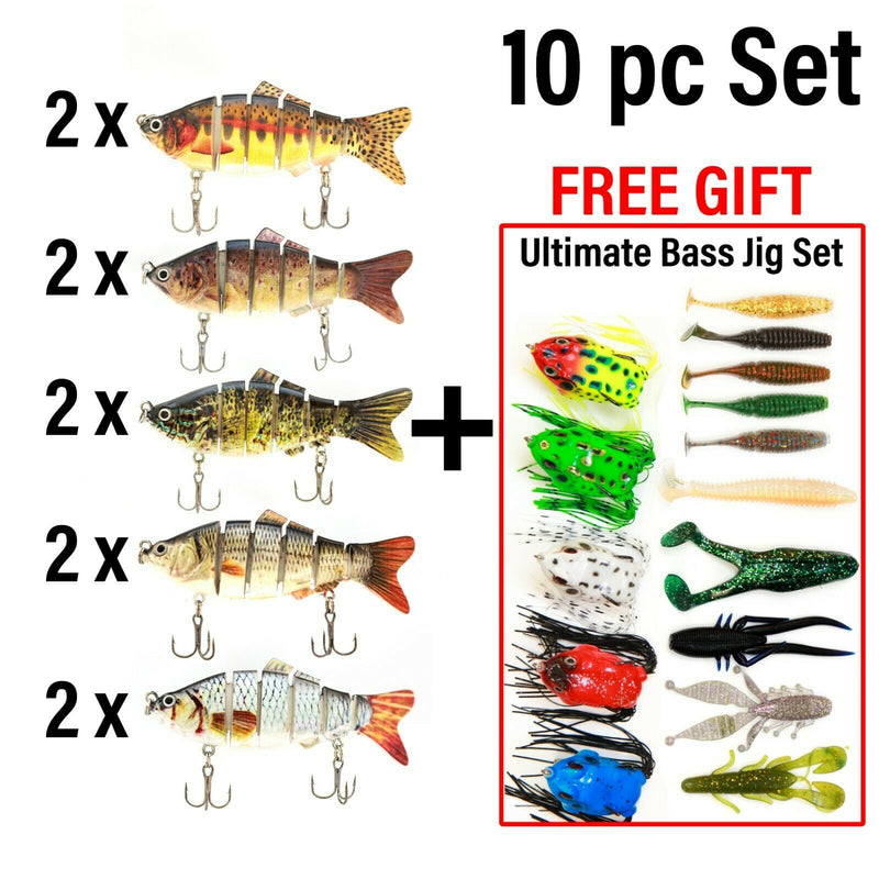 UFISH Bass Fishing Lot