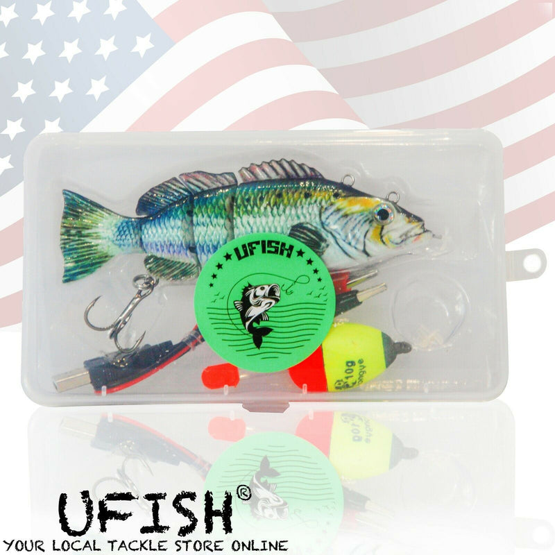 Large Size - Swimming Robotic Fishing Lure , Animated Swimbait - Electric Bait Sporting Goods:Fishing:Baits, Lures & Flies:Swimbaits UFISH