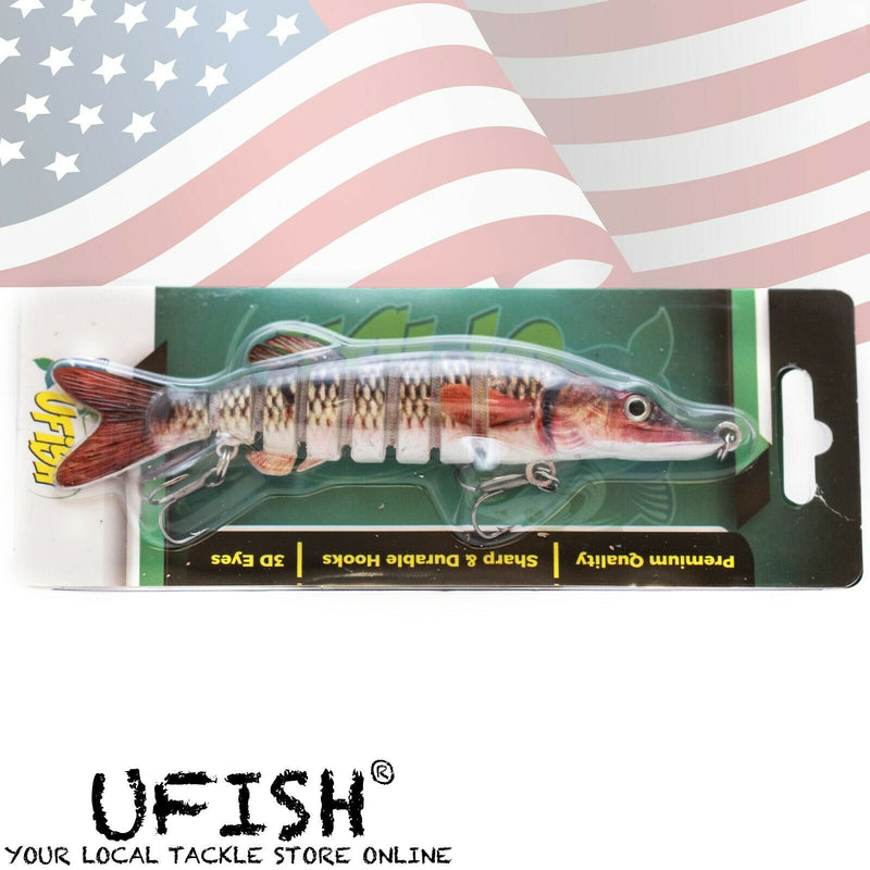 "UFISH Large 5"" Fishing Lure Lot"