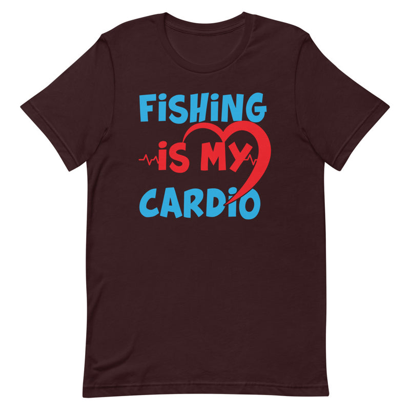 Fishing is my Cardio Best Fishing Lovers T-Shirt