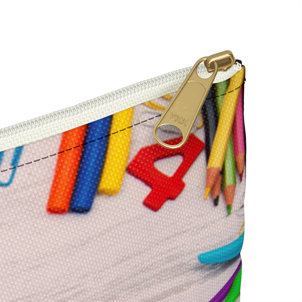 Numbers Pencil Case (See Coordinating Backpack) - NAMEBITZ