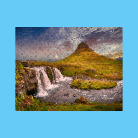 Waterfall Custom Signature Puzzle