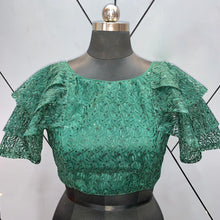 Load image into Gallery viewer, Beautiful Readymade Blouse with Ruffle Sleeves