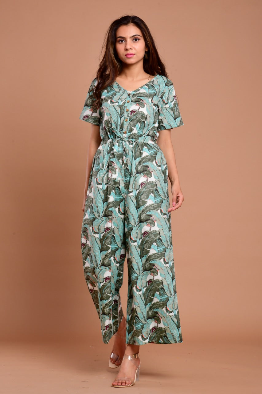 Trendy Readymade Cotton Jumpsuit