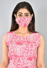 Load image into Gallery viewer, Pretty Pink Printed Cotton