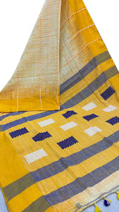 Beautiful Khadi Cotton Saree