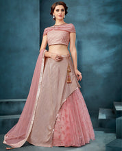 Load image into Gallery viewer, Pretty Pink Partywear Lehenga