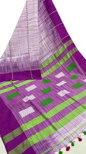 Attractive Khadi Cotton Saree