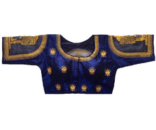 Load image into Gallery viewer, Royal Blue Readymade Blouse