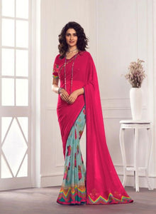 Pretty Georgette Saree