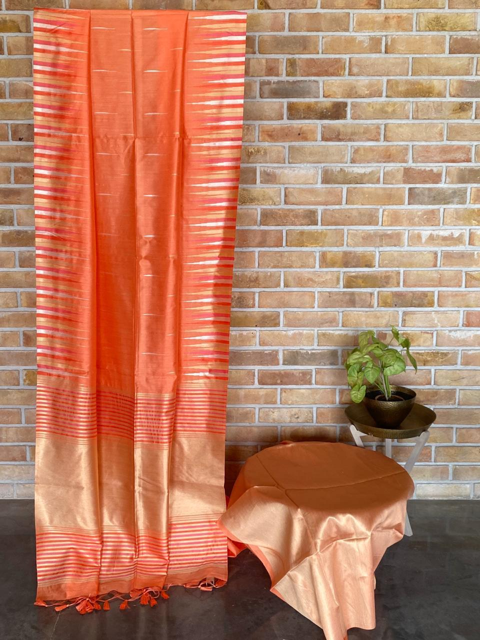 Puran silk saree