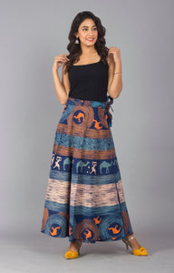 Beautiful Cotton Jaipur Wraparound Skirt