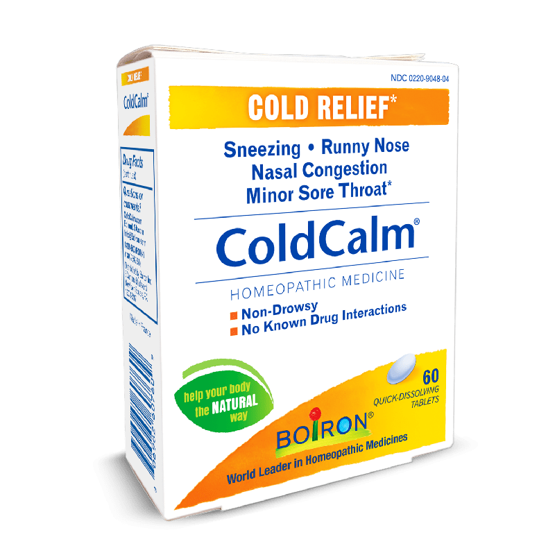 ColdCalm Tablets for Adults and Children - 60 Quick Dissolving Tablets