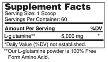 Load image into Gallery viewer, L-Glutamine Powder 5000 mg