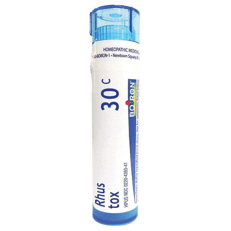 Rhus Tox, Boiron 30C Strength - 80 Pellets