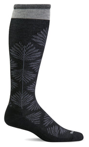Sockwell Women's Full Floral Graduated Compression Socks - Wide Calf Fit