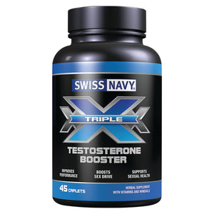 Swiss Navy Triple X Testosterone Booster with Testofen