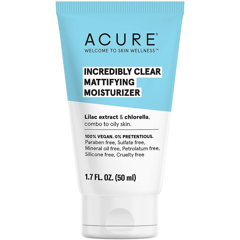 ACURE Incredibly Clear Mattifying Moisturizer - 1.7 Ounces