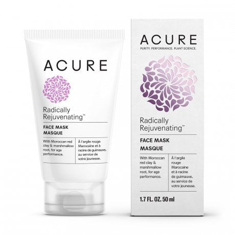ACURE Radically Rejuvenating Face Mask, Red Clay - 1.7 Ounce
