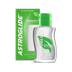 Astroglide Organix Water-Based Liquid Personal Lubricant- 2.5 Ounce