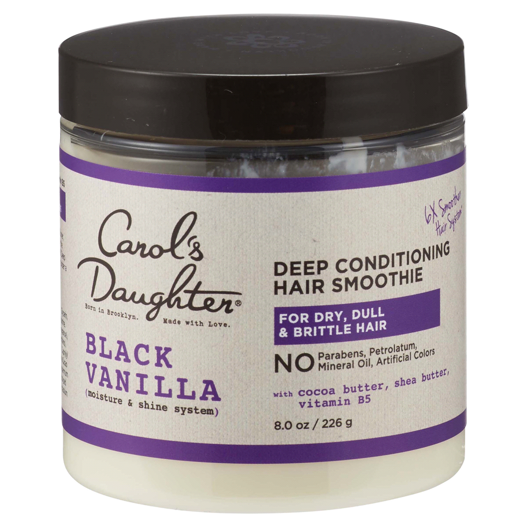 Carol's Daughter Black Vanilla Deep Conditioning Hair Smoothie - 8 Ounces