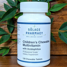 Load image into Gallery viewer, Children's Chewable Multivitamin w/ Acidophilus