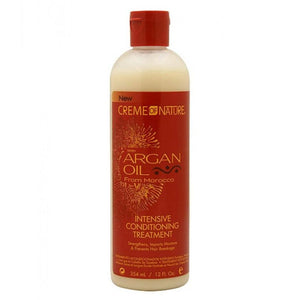 Creme of Nature Intensive Conditioning Treatment, Argan Oil - 12 Ounce