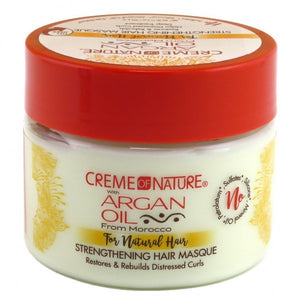 Creme of Nature Strengthening Hair Masque, Argan Oil - 11.5 Ounce