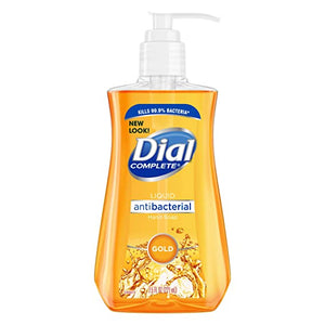 Dial Complete Antibacterial Gold Liquid Soap - 7.5 Ounce