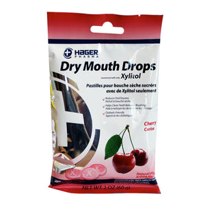 Hager Pharma Dry Mouth Drops with Xylitol - 26 count