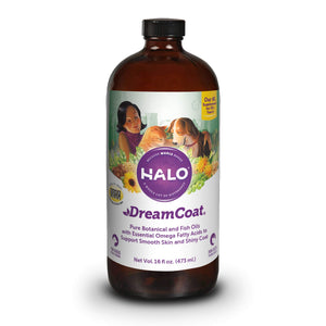 Halo VitaGlo Dream Coat Dog & Cat Supplement - 16 Ounce