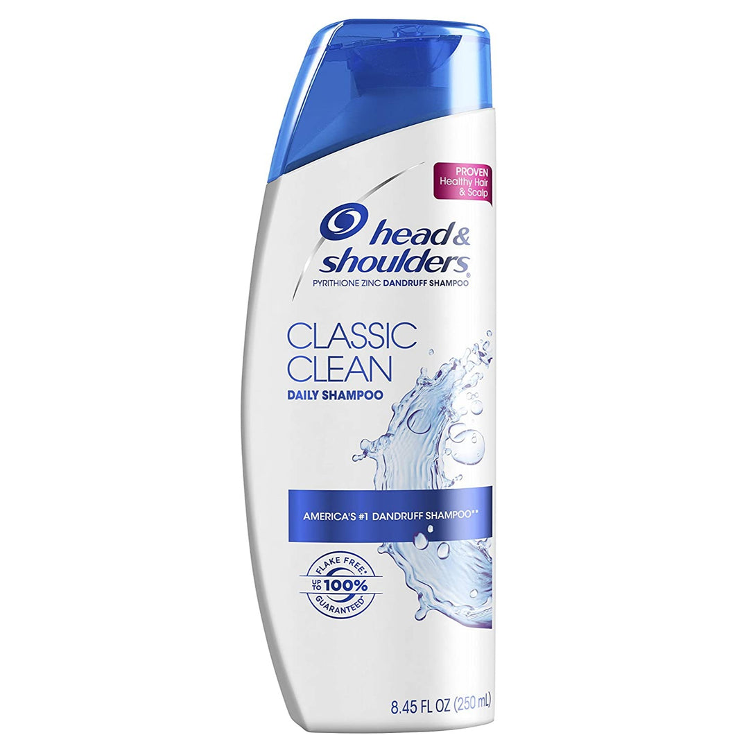Head and Shoulders Classic Clean Daily-Use Anti-Dandruff Paraben Free Shampoo - 13.5 Ounce