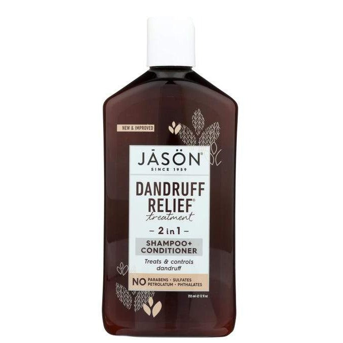 Jason Dandruff Relief Shampoo and Conditioner 2-in-1 - 12 Ounces