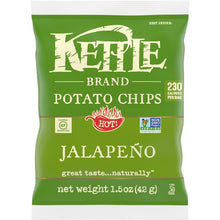 Load image into Gallery viewer, Kettle Brand Chips, Jalapeno - 1.5 Ounce