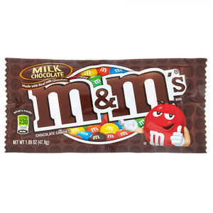 M&M's Milk Chocolate Candies - 1.69 Ounce