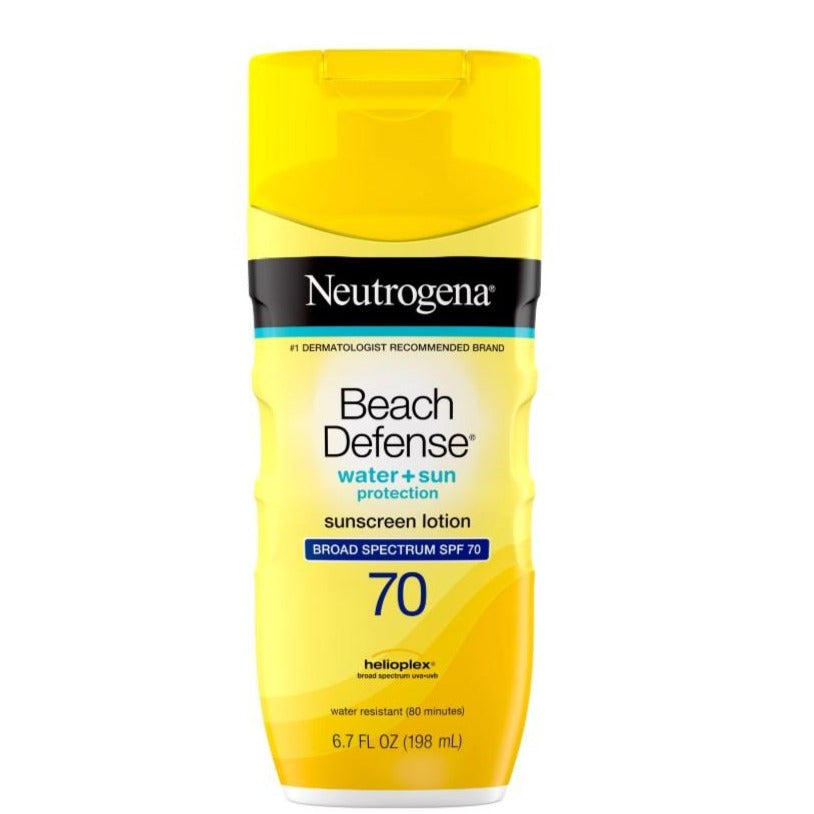 Neutrogena Beach Defense Sunscreen Lotion SPF 70 - 6.7 Ounce
