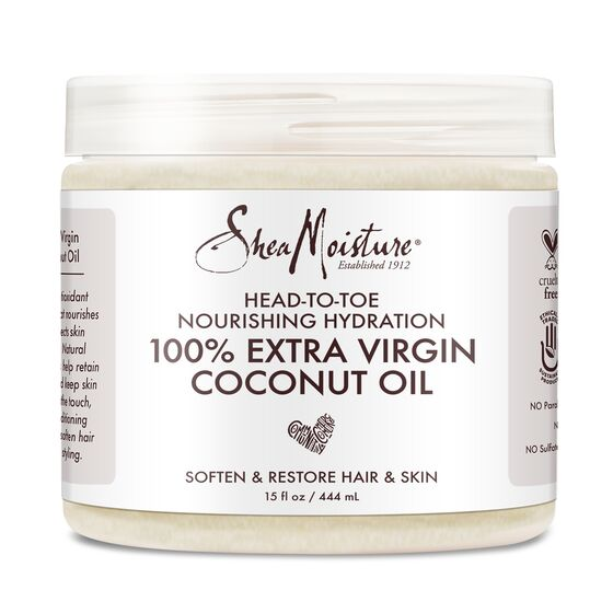 SheaMoisture 100% Extra Virgin Coconut Oil Head-to-Toe Nourishing Hydration - 15 Ounce