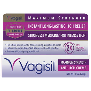 Vagisil Anti-Itch Creme, Maximum Strength - 1 Ounce